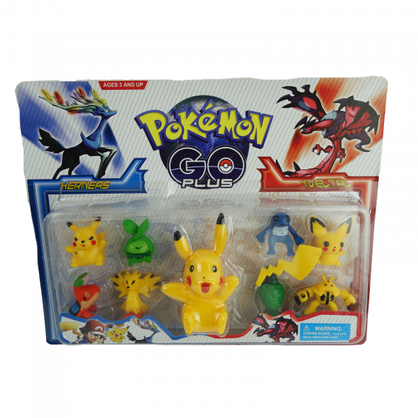 Set 9 figurine Pokemon Go 2