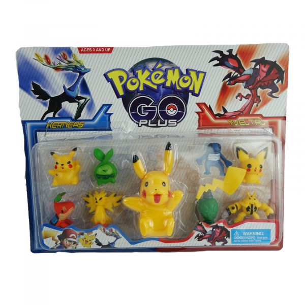 Set 9 figurine Pokemon Go 1
