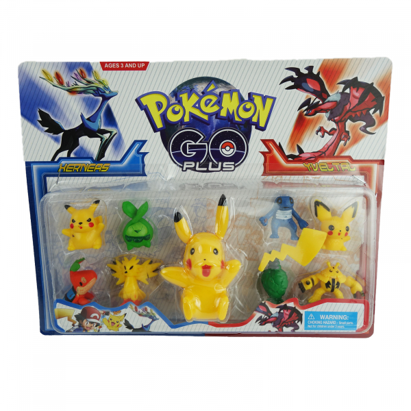 Set 9 figurine Pokemon Go 0