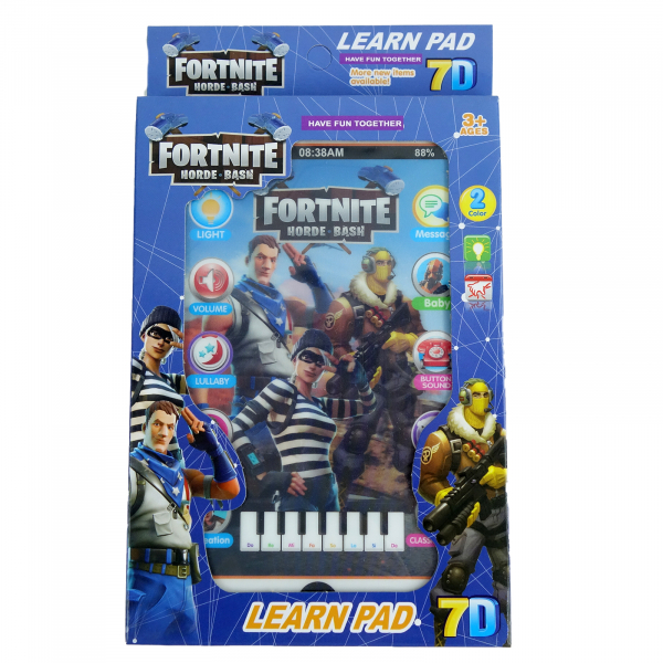 Tableta interactiva cu sunete, Fortnite, 20 cm 1