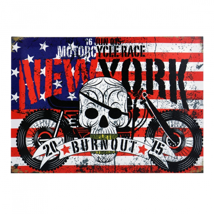Tablou Canvas, Burnout New York 0