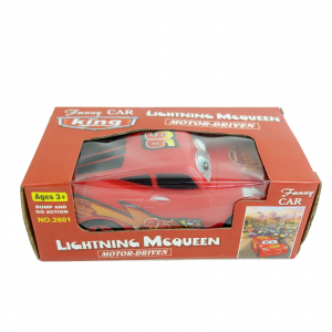 Masina Happy Car interactiva, isi misca ochii, 16 cm3