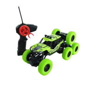 Monster Off-Road, 4x4, 8 roti de cauciuc, 27 cm, verde0