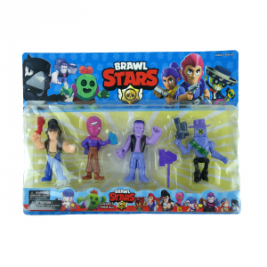Set 4 figurine Brawl Stars1