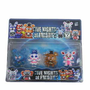 Set 4 figurine Five nights at Freddy's1