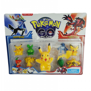 Set 9 figurine Pokemon Go0