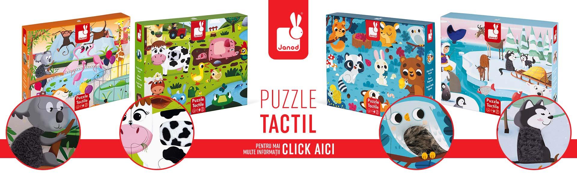Banner - Puzzle tactil