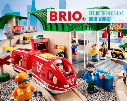 Set de tren deluxe BRIO World
