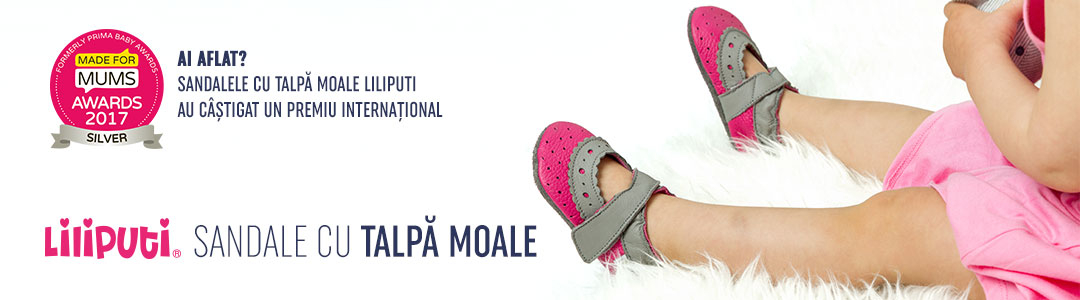 Banner - Sandale cu talpa moale