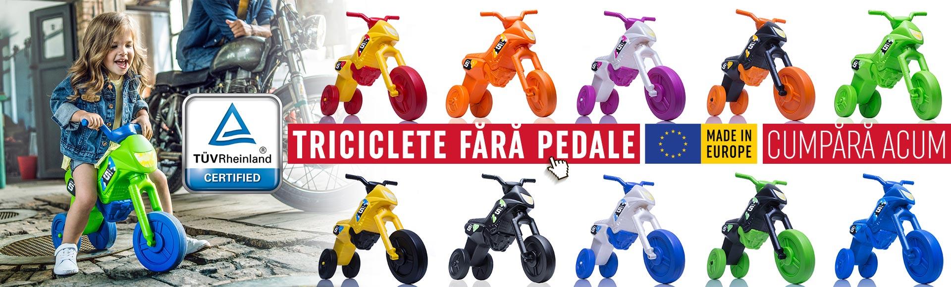 Enduro X - Triciclete fara pedale 2020
