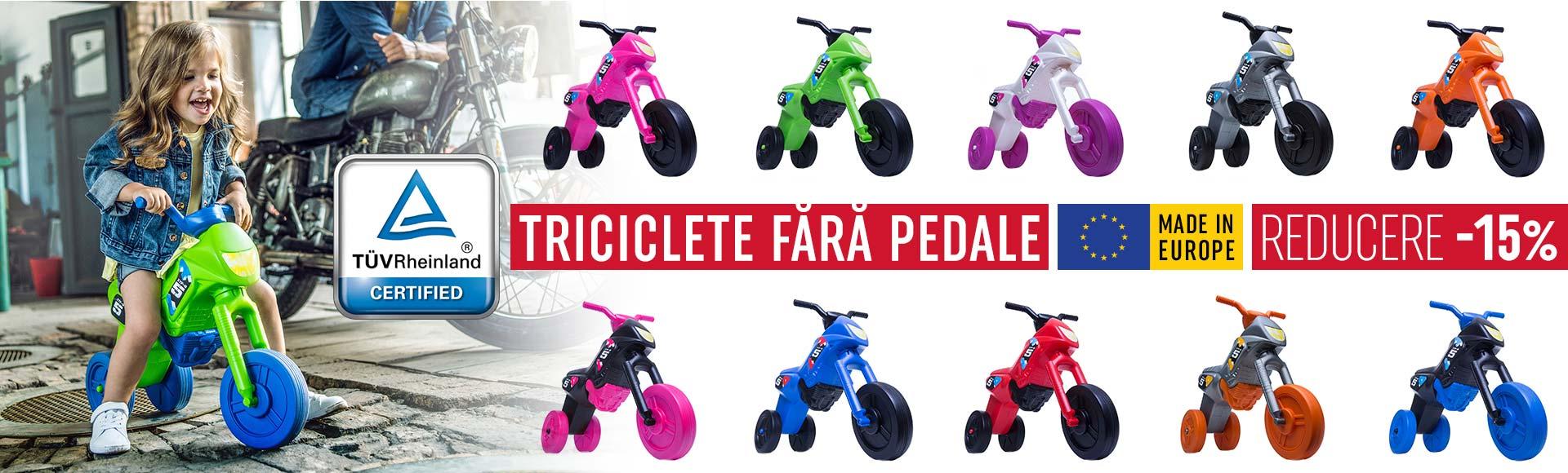 Enduro X - Triciclete fara pedale 2019