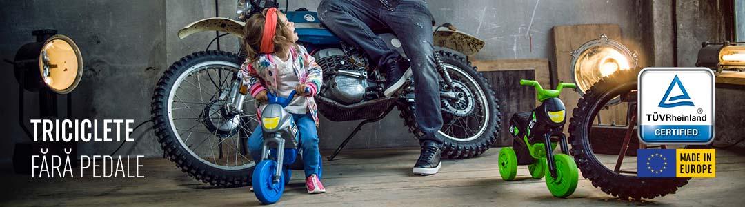 Enduro X - Triciclete fara pedale - pagini de ctegorie