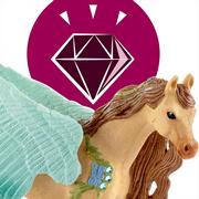 Armăsar Pegasus decorat - Figurina Schleich 70574