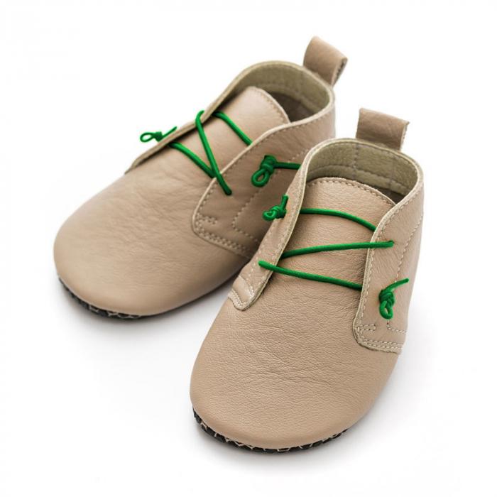 Șireturi elastice - pantofi Liliputi Urban - Green 3