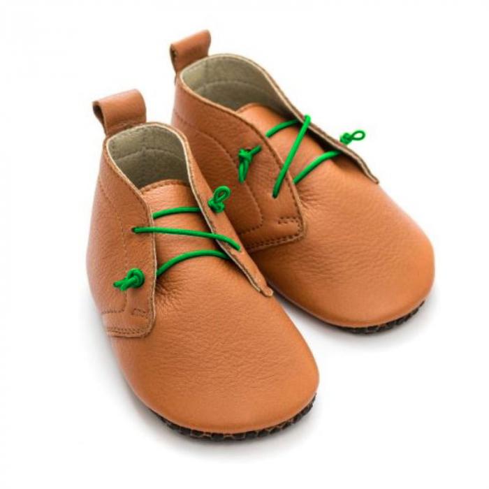 Șireturi elastice - pantofi Liliputi Urban - Green 1