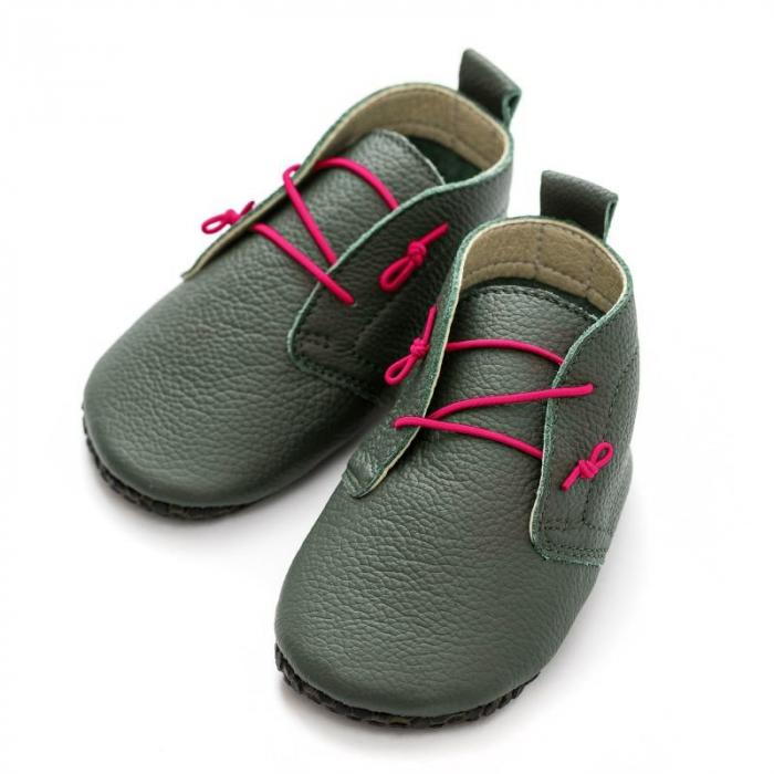 Șireturi elastice - pantofi Liliputi Urban - Pink 1