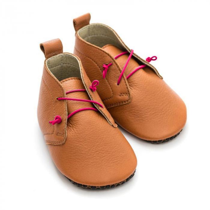Șireturi elastice - pantofi Liliputi Urban - Pink 3