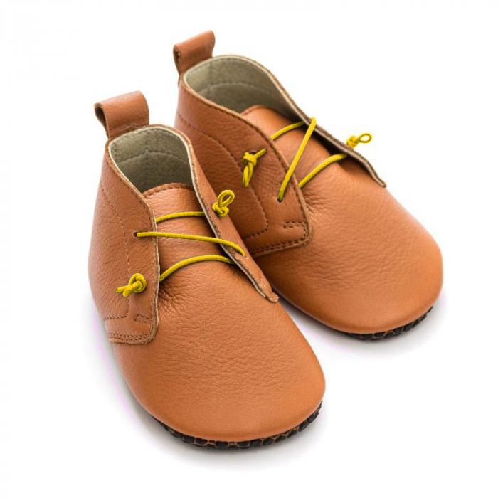 Șireturi elastice - pantofi Liliputi Urban - Yellow 1