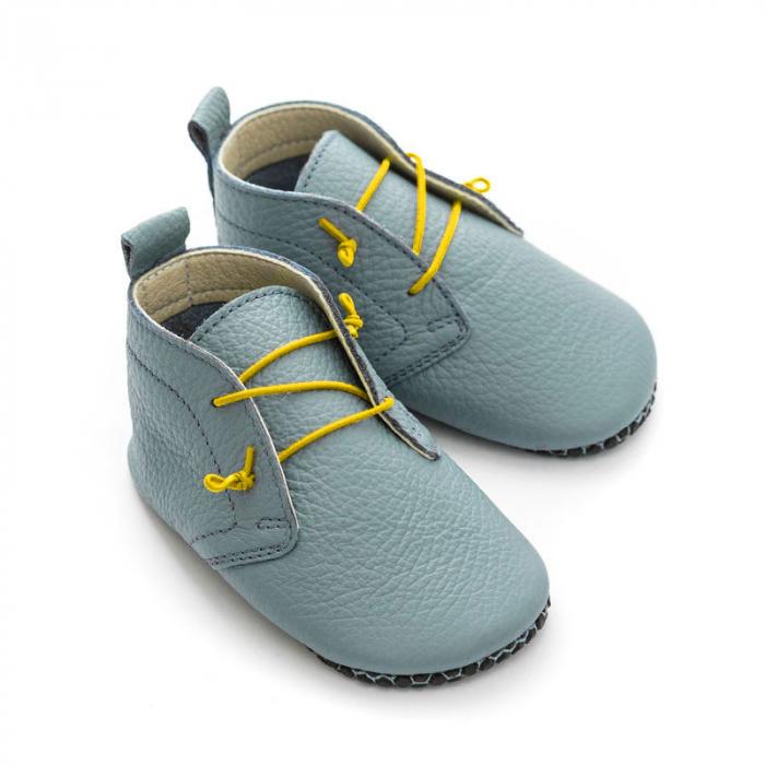 Șireturi elastice - pantofi Liliputi Urban - Yellow 2