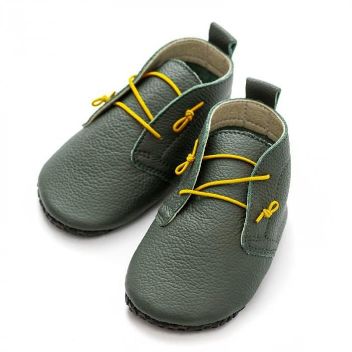 Șireturi elastice - pantofi Liliputi Urban - Yellow 3