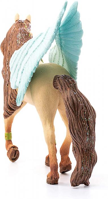 Armăsar Pegasus decorat - Figurina Schleich 70574 2