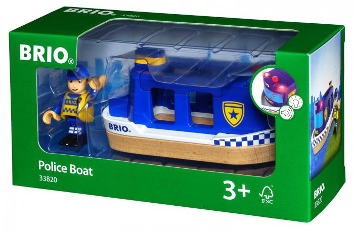 Barcă de poliție, Brio 33820 0