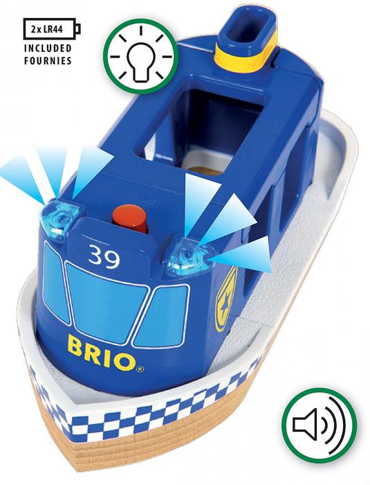 Barcă de poliție, Brio 33820 2