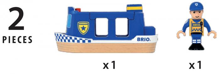Barcă de poliție, Brio 33820 3