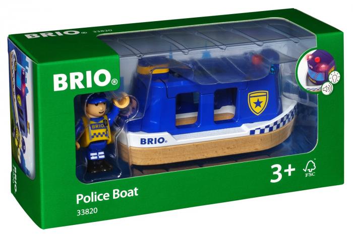 Barcă de poliție, Brio 33820 4