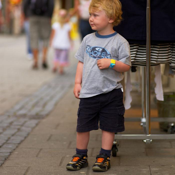 Brățară refolosibilă de identificare pentru copii Infoband - Cu iepuraș 5