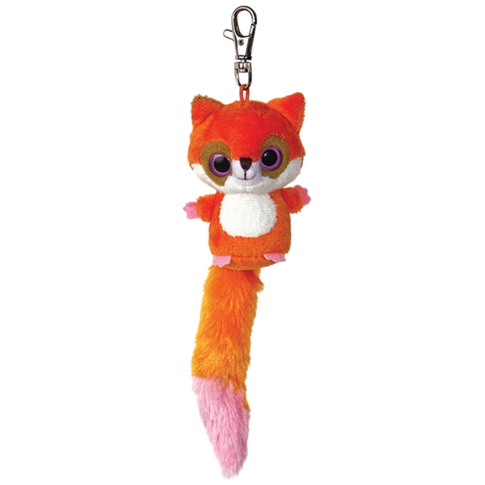 Breloc cu plus - Yoohoo Red Fox - 8 cm, Aurora 12554 0
