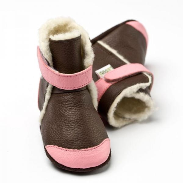 Cizme cu talpă moale Liliputi® - Alps Brown 0