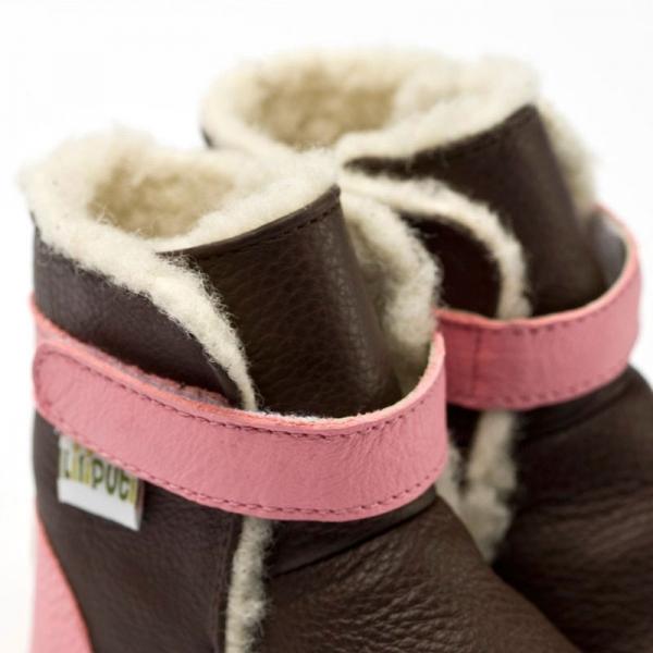 Cizme cu talpă moale Liliputi® - Alps Brown 1