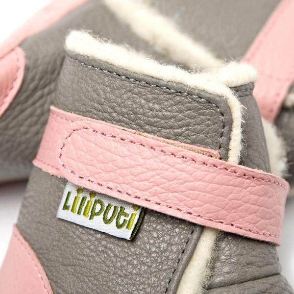 Cizme cu talpă moale Liliputi® - Alps Grey 2