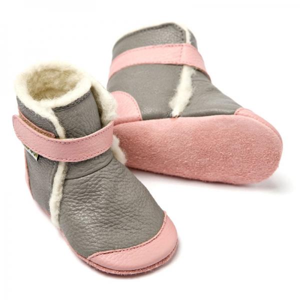 Cizme cu talpă moale Liliputi® - Alps Grey 1