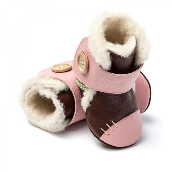 Cizme cu talpă moale Liliputi® - Arctic Brown 0