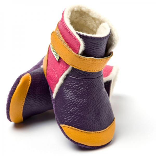 Cizme cu talpă moale Liliputi® - Yukon Yellow 0