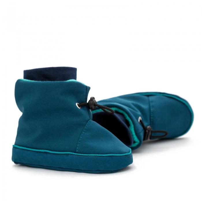 Cizme la purtat Liliputi® - Azure Turquoise 1