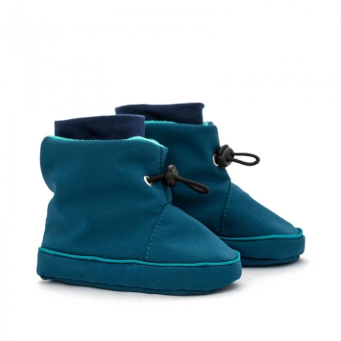 Cizme la purtat Liliputi® - Azure Turquoise 0