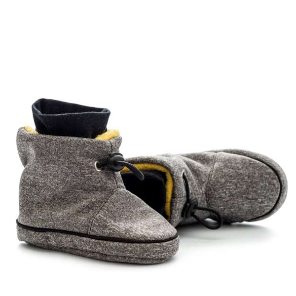 Cizme la purtat Liliputi® - Grey-Yellow 1