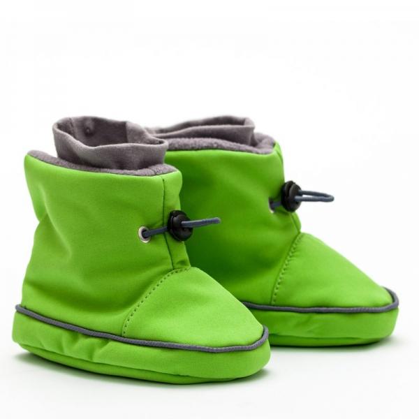 Cizme la purtat Liliputi® - Green-grey 0