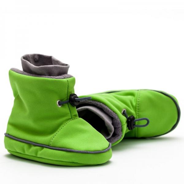 Cizme la purtat Liliputi® - Green-grey 1