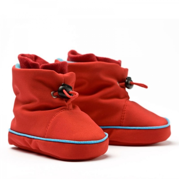 Cizme la purtat Liliputi® - Red-turquoise 0