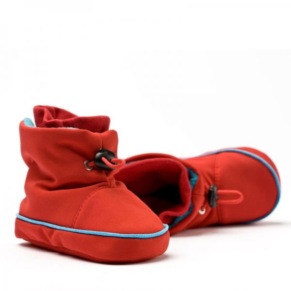 Cizme la purtat Liliputi® - Red-turquoise 1