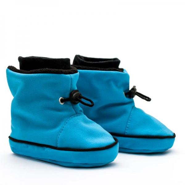 Cizme la purtat Liliputi® - Turquoise-black [0]