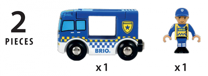 Dubă de poliție, Brio 33825 3