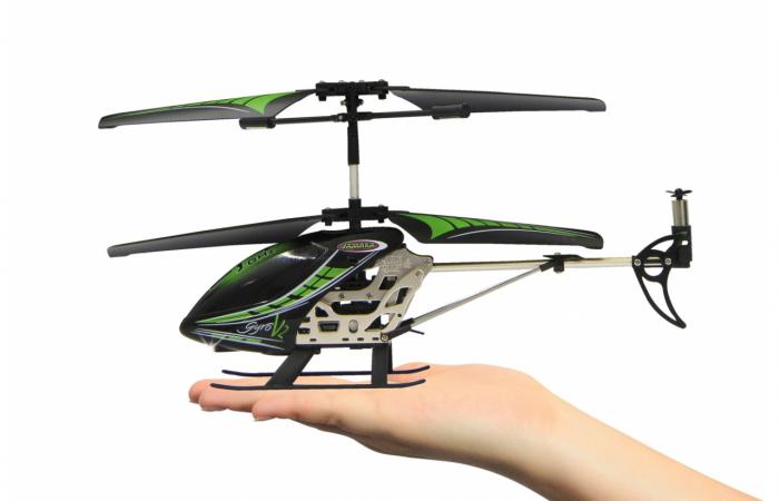 Elicopter cu telecomandă Gyro V2, Jamara 38150 5