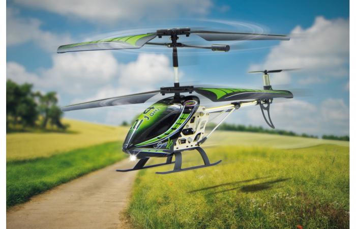 Elicopter cu telecomandă Gyro V2, Jamara 38150 7