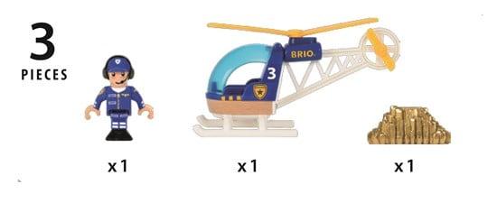 Elicopter de poliție, Brio 33828 4