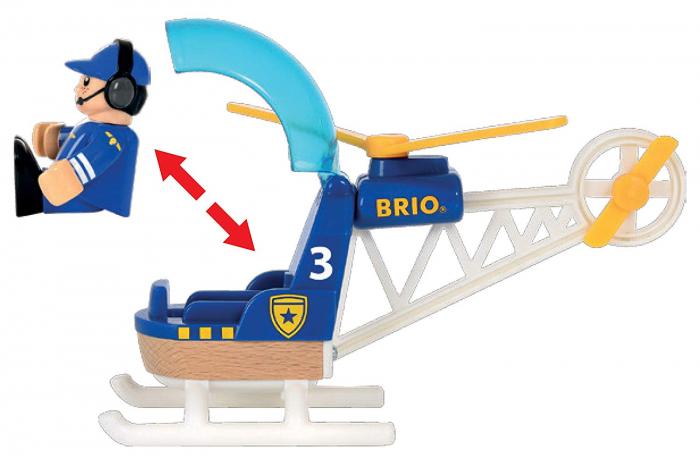 Elicopter de poliție, Brio 33828 3